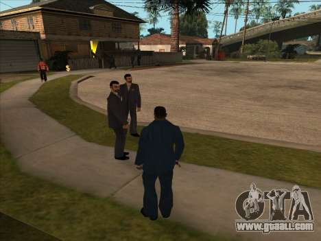 Russian mafia in Ganton for GTA San Andreas third screenshot