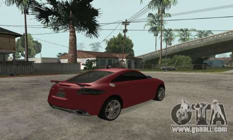 Audi TT-RS Tunable for GTA San Andreas left view