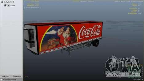 GTA 5 Coca Cola Truck v1.1 rear right side view