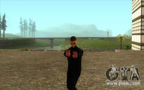Visiting Wu Zi Mu for GTA San Andreas