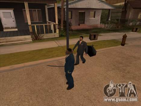 Russian mafia in Ganton for GTA San Andreas fifth screenshot