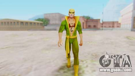 Marvel Future Fight - Iron Fist for GTA San Andreas second screenshot