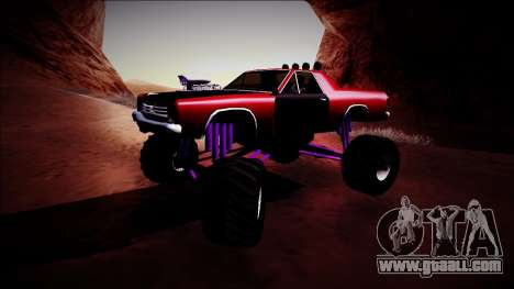 Picador Monster Truck for GTA San Andreas left view