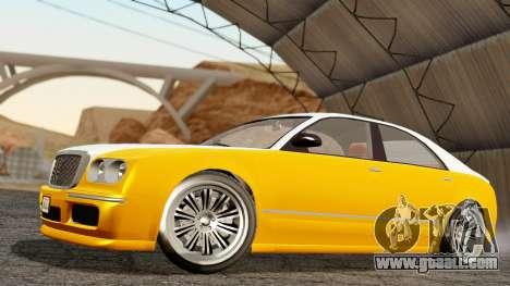GTA 5 Enus Cognoscenti 55 for GTA San Andreas