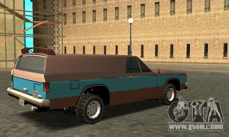 Picador Vagon Extreme for GTA San Andreas right view