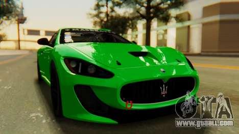 Maserati Gran Turismo Tron for GTA San Andreas right view