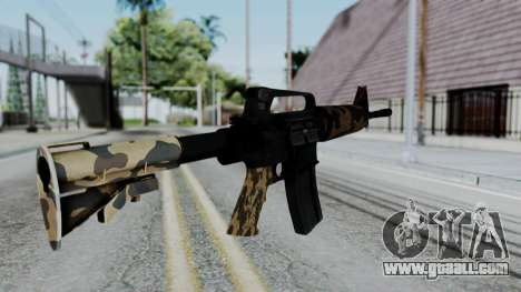 M16 A2 Carbine M727 v2 for GTA San Andreas second screenshot