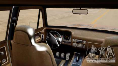 GTA 5 Declasse Rancher XL IVF for GTA San Andreas back left view