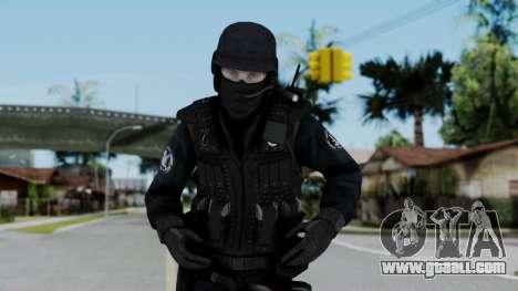 Regular SWAT for GTA San Andreas