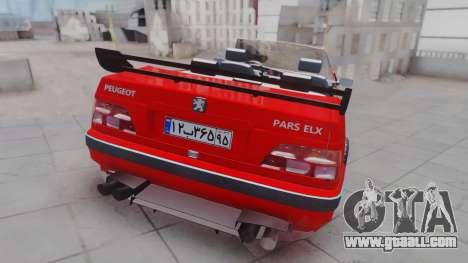 Peugeot Pars Spayder Sport for GTA San Andreas left view