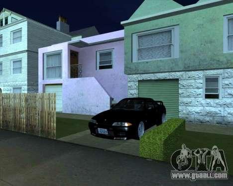 Nissan Skyline GT-R BNR32 Initial D Legend 2 N.K for GTA San Andreas