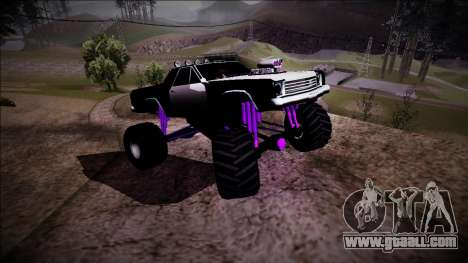 Picador Monster Truck for GTA San Andreas upper view