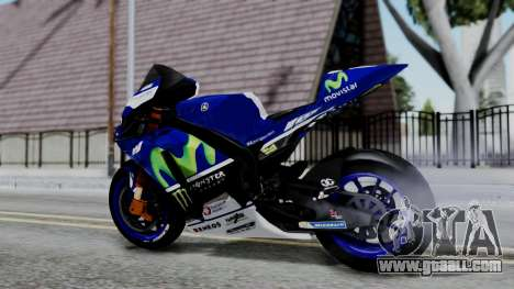 Yamaha YZR-M1 VR46 for GTA San Andreas left view