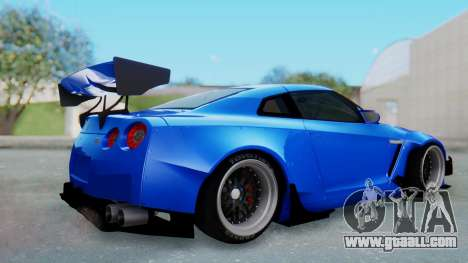 Nissan GT-R R35 Rocket Bunny for GTA San Andreas right view