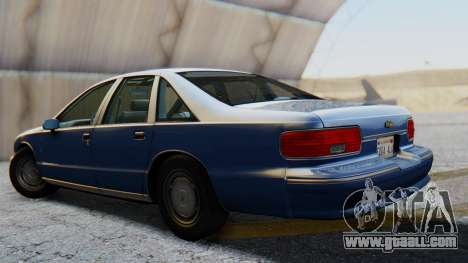 Chevrolet Caprice 1993 for GTA San Andreas left view