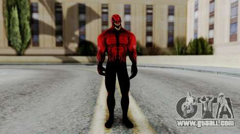 Marvel Heroes - Toxin for GTA San Andreas second screenshot