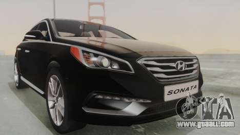 Hyundai Sonata Turbo 2.0 2015 V1.0 Final for GTA San Andreas right view