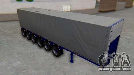 Trailer Colis Blue for GTA San Andreas