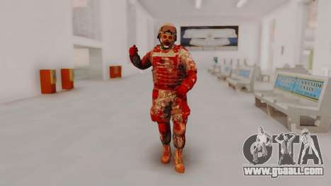 Zombie Military Skin for GTA San Andreas second screenshot