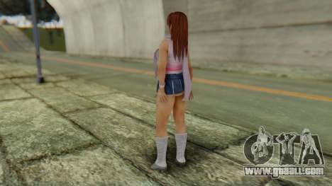 Kasumi Scarf for GTA San Andreas third screenshot
