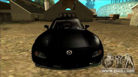 Mazda RX-7 Rusty Rebel for GTA San Andreas upper view