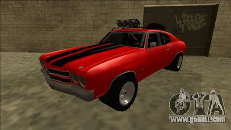 Chevrolet Chevelle Rusty Rebel for GTA San Andreas