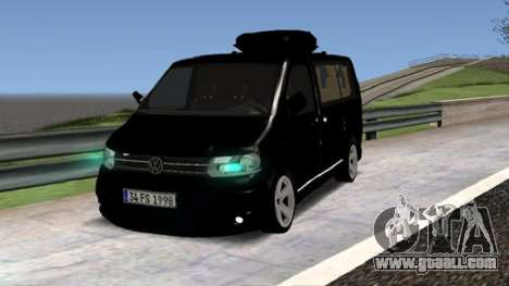Volkswagen bus By.Snebes for GTA San Andreas