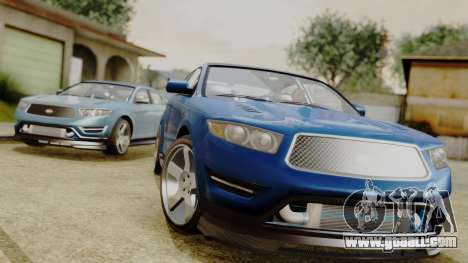 GTA 5 Vapid Greenwood for GTA San Andreas