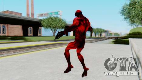 The Amazing Spider-Man 2 Game - Carnage for GTA San Andreas third screenshot