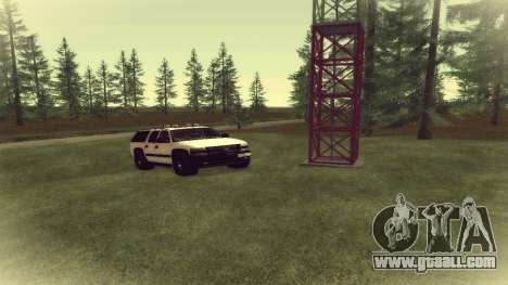 Chevrolet Suburban Offroad Final Version for GTA San Andreas left view