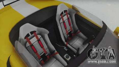 GTA 5 Bravado Banshee 900R Tuned for GTA San Andreas back view