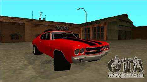 Chevrolet Chevelle Rusty Rebel for GTA San Andreas right view