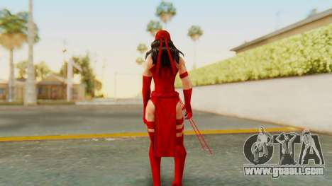Marvel Future Fight - Elektra for GTA San Andreas third screenshot