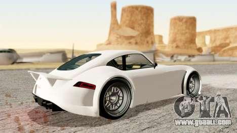 GTA 5 Bravado Verlierer Stock for GTA San Andreas back left view