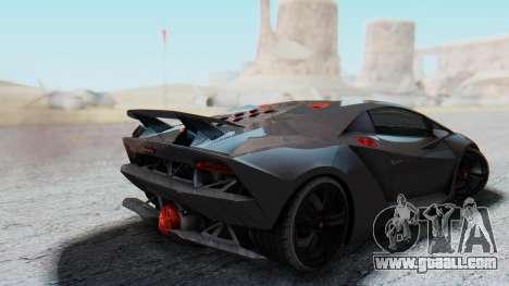 Lamborghini Sesto Elemento 2010 for GTA San Andreas left view