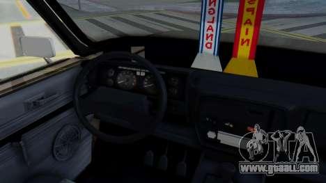 Peykan 80 Spyder for GTA San Andreas inner view