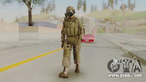 US Army Urban Soldier Gas Mask from Alpha Protoc for GTA San Andreas second screenshot