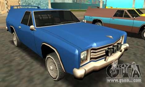 Picador Vagon Extreme for GTA San Andreas wheels
