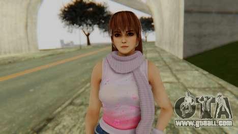 Kasumi Scarf for GTA San Andreas