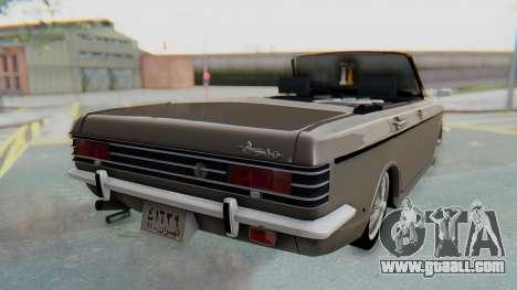 Peykan 80 Spyder for GTA San Andreas left view