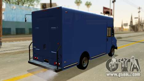 Boxville from GTA 5 for GTA San Andreas left view