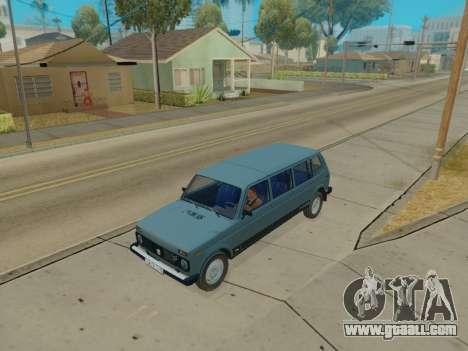 ВАЗ 2131 7-door [HQ Version] for GTA San Andreas