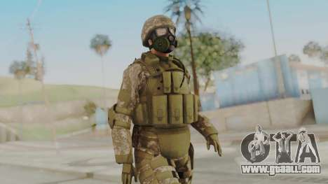 US Army Urban Soldier Gas Mask from Alpha Protoc for GTA San Andreas