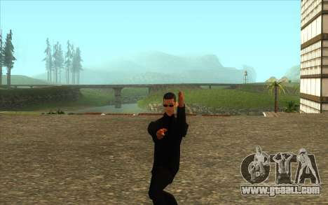 Visiting Wu Zi Mu for GTA San Andreas third screenshot