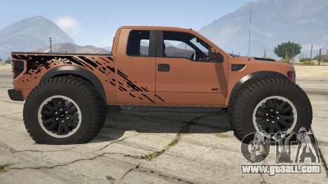Ford Velociraptor 1500 hp for GTA 5