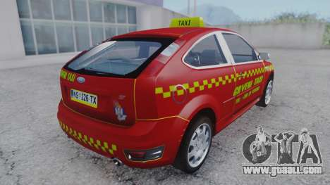 Ford Focus ST Taxi for GTA San Andreas left view