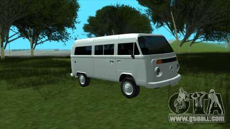 Volkswagen Kombi 2004 for GTA San Andreas right view