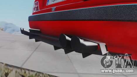 Peugeot Pars Spayder Sport for GTA San Andreas back left view