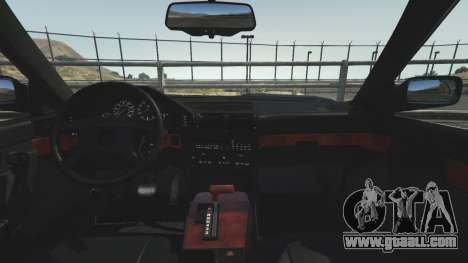 GTA 5 BMW 535i E34 steering wheel
