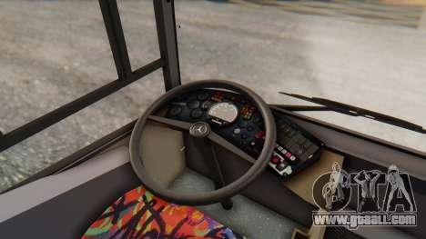 MAN NM 222 for GTA San Andreas inner view